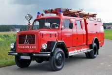 Magirus-Deutz F Mercur 150 A Löschgruppenfahrzeug LF 16