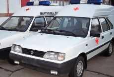 FSO Polonez Krankenwagen