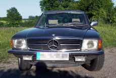 Mercedes-Benz 350 SLC Coupe C107