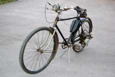 MAW Fahrrad mit Anbaumotor