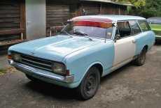 Opel Rekord C Caravan Ratte