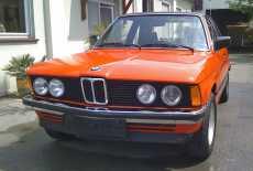 BMW 318 Baur Cabrio