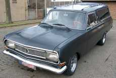 Opel Rekord B Leichenwagen