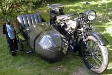 Ardie TM 500 mit Beiwagen