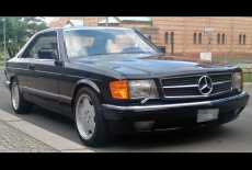 Mercedes-Benz SEC Coupe W126 C