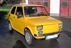 Polski Fiat 126p Maluch