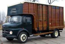 oldtimer mercedes benz la311 von 1955 mieten 9885 film. Black Bedroom Furniture Sets. Home Design Ideas