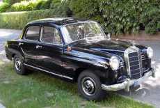 Mercedes-Benz W 120 190 b Ponton
