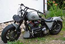 Harley Davidson Bobber Totalumbau
