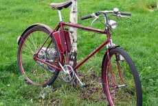 MAW Fahrrad mit Hilfsmotor