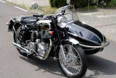 Royal Enfield India Bullet 500 Watsonian Gespann