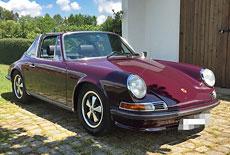 Porsche 911 Targa 2.4l Ölklappe