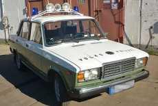 Lada 2107 Volkspolizei