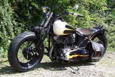 Harley Davidson Panhead Bobber
