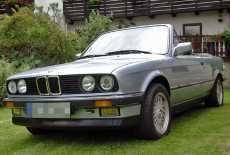 BMW E30 320iA Cabrio