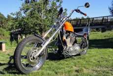 Harley Davidson 883 Chopper