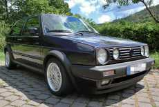 VW Golf 2 G60 Fire & Ice