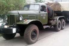 ZIL 157 Raktentransportfahrzeug