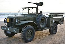 Dodge WC51 mit MG