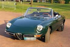 Alfa Romeo 1750 Spider Veloce Rundheck