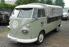 VW T1 Pritsche lang mit Plane