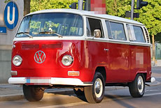 VW T2a Bulli Deluxe Bus