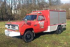 Dodge W350 Fire Truck