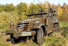 White Halftrack M16 Multiple Gun Motor Carriage