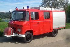 Mercedes-Benz T2 Modell 409 Feuerwehr