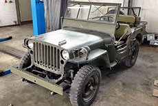 Willys MB Jeep Hotchkiss M201