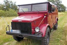 Borgward B 2000 Mannschaftsfahrzeug