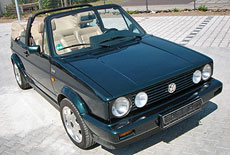 VW Golf 1 Cabriolet Classic Line