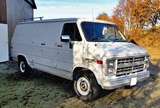 Chevrolet Cargo Van G10
