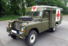 Land Rover 109 Serie III Ambulance
