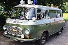 Barkas B 1000 KK Volkspolizei
