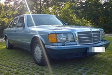 Mercedes-Benz W126 420 SEL