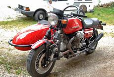 Moto Guzzi Le Mans Gespann