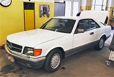 Mercedes-Benz C126 560 SEC