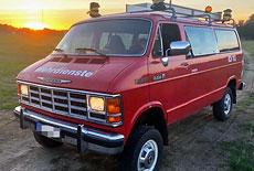 Dodge Mowag B350 A8 4x4 VanCharger