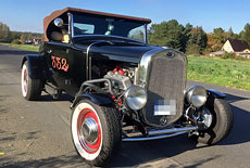 Ford Model A Hot Rod Roaster V8