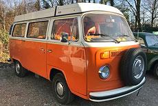 VW T2 Camping Bus Bulli