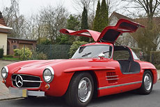 Mercedes-Benz W198 300 Sl Gullwing Replika