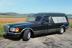 Mercedes-Benz W126 SEL 280 Bestattungswagen