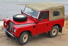 Land Rover 88 Serie 3 Cabrio