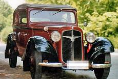 Adler Trumpf Junior Cabriolet Limousine