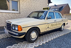 Mercedes-Benz W123 300 Turbodiesel