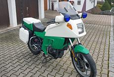 BMW K 75 RT Polizeimotorad
