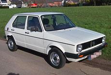VW Golf 1 D Typ 17