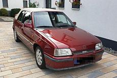 Opel Kadett E GSi Cabrio