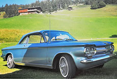 Chevrolet Corvair Monza Serie 900 Coupe